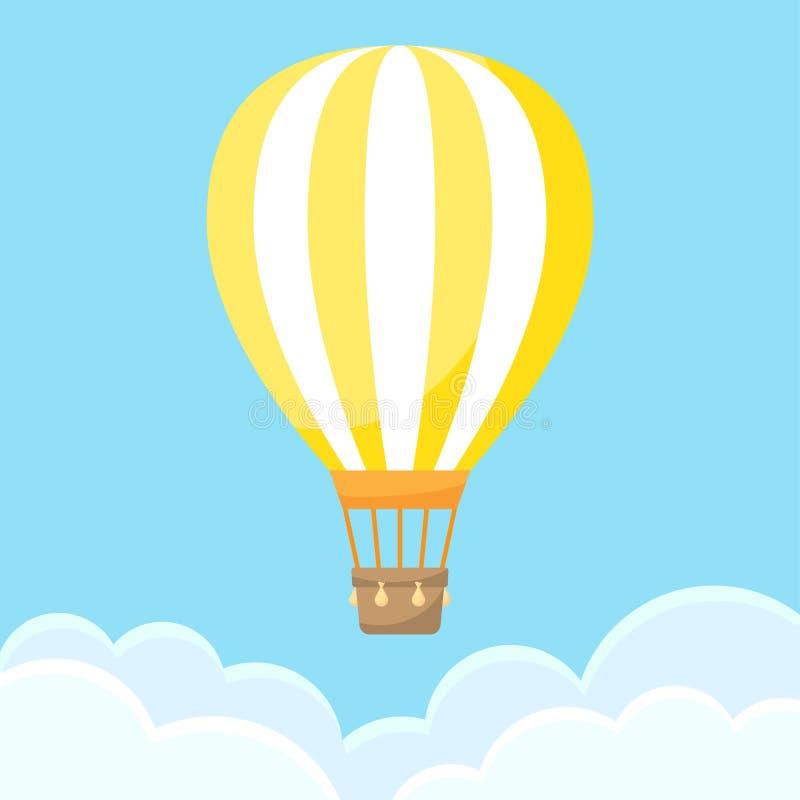 το μπαλόνι αέρα καλύπτει κ&alp απεικόνιση αποθεμάτων