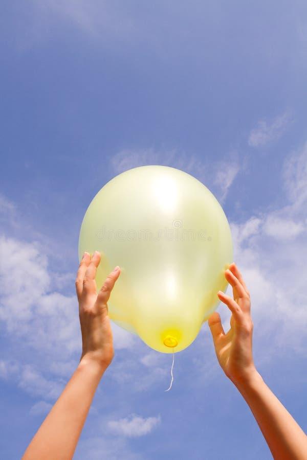 Το μπαλόνι. στοκ φωτογραφία
