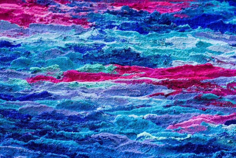 Το μπλε και η Magenta χρωμάτισαν το κατασκευασμένο υπόβαθρο στοκ εικόνες με δικαίωμα ελεύθερης χρήσης