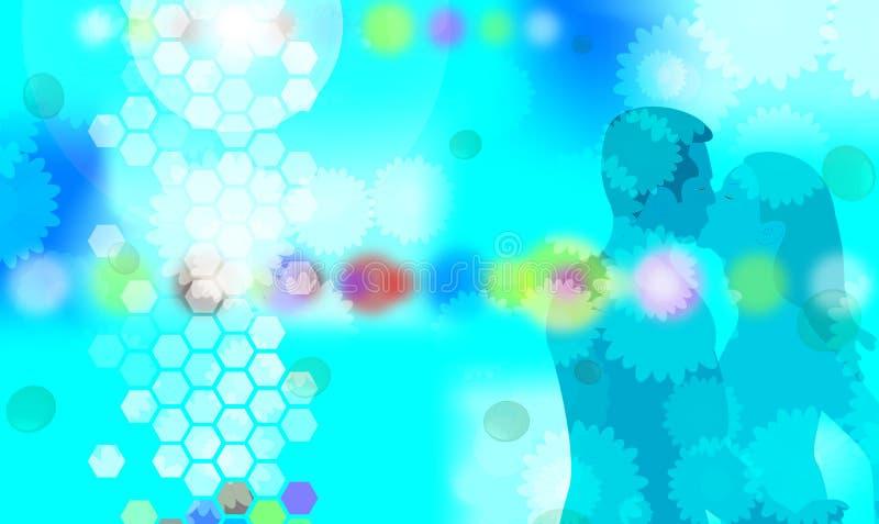 Download το μπλε 2 προκαλεί απεικόνιση αποθεμάτων. εικονογραφία από πυξαριού - 525621