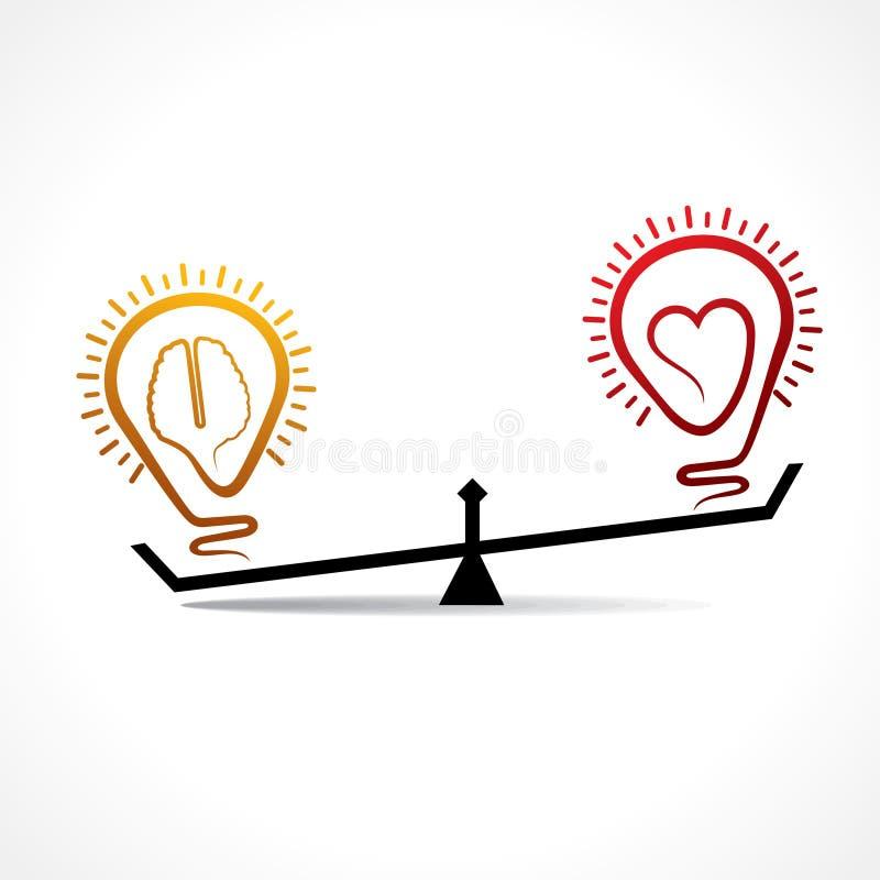 Το μυαλό είναι πολυτιμότερο από την έννοια αγάπης απεικόνιση αποθεμάτων