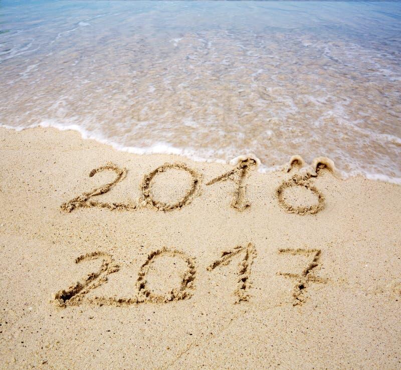 Το νέο έτος 2017 είναι ερχόμενη έννοια στοκ εικόνες με δικαίωμα ελεύθερης χρήσης