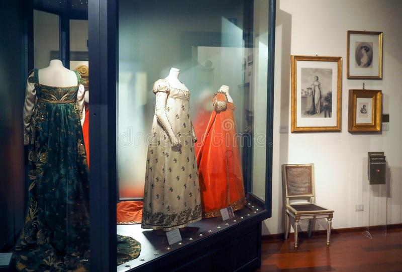 Το ναπολεόντειο μουσείο στη Ρώμη, Ιταλία στοκ εικόνες