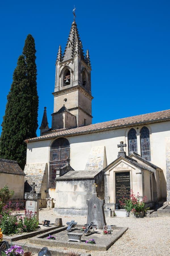 Το νεκροταφείο Aigueze στοκ εικόνα με δικαίωμα ελεύθερης χρήσης