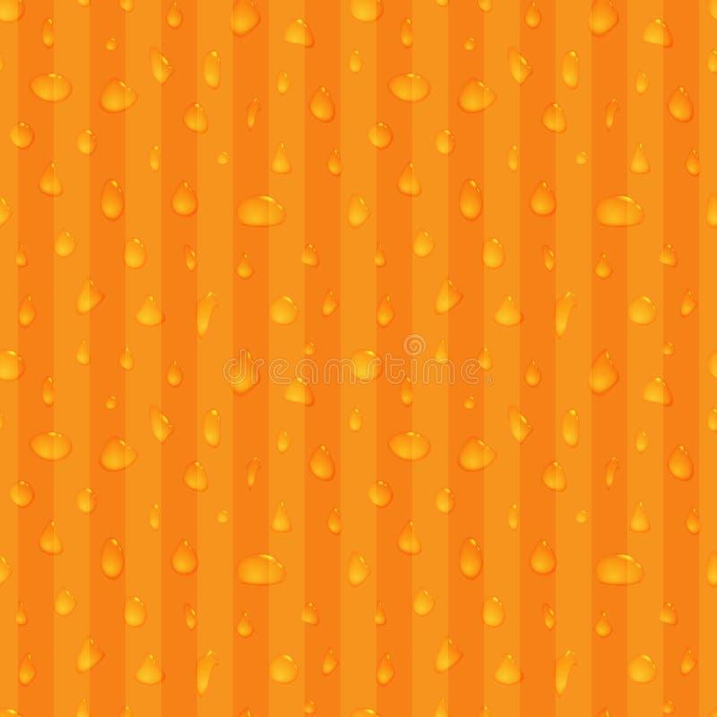 Το νερό ρίχνει το άνευ ραφής υπόβαθρο απεικόνιση αποθεμάτων