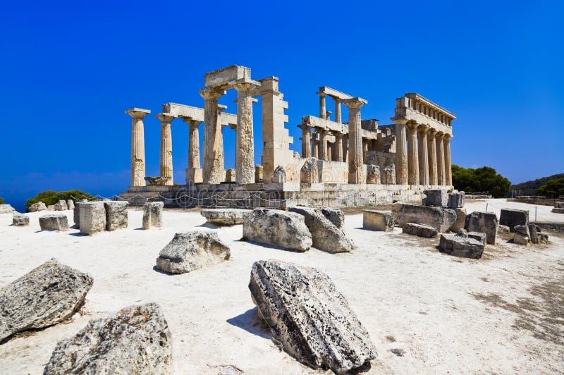 το νησί της Ελλάδας aegina κατ&al στοκ φωτογραφία με δικαίωμα ελεύθερης χρήσης