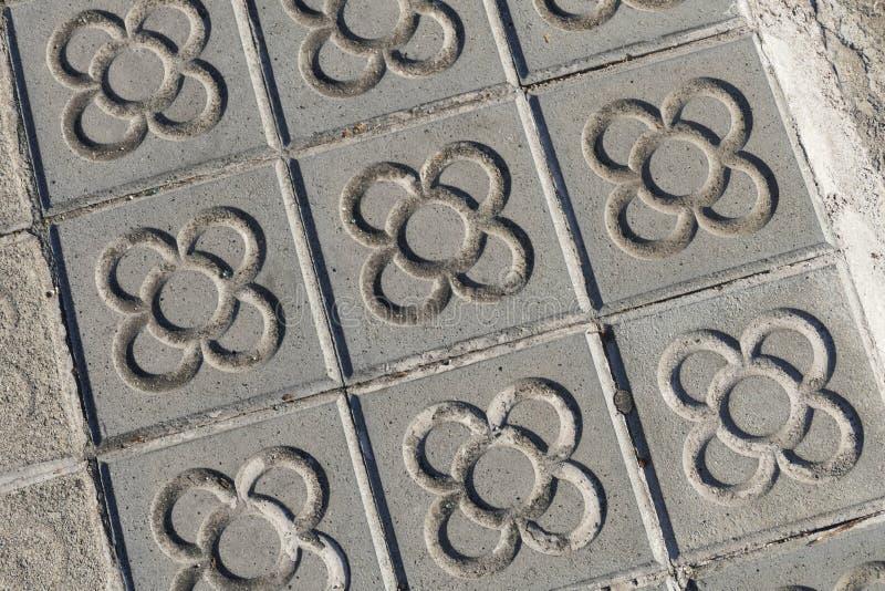 Το Νοέμβριο του 2016 circa της Βαρκελώνης Ισπανία τα χαρακτηριστικά νεωτεριστικά κεραμίδια λουλουδιών στοκ φωτογραφία