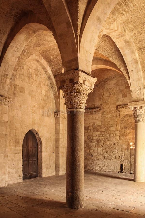 Το νορμανδικό Swabian Castle _ Apulia ή Πούλια Ιταλία στοκ φωτογραφία με δικαίωμα ελεύθερης χρήσης