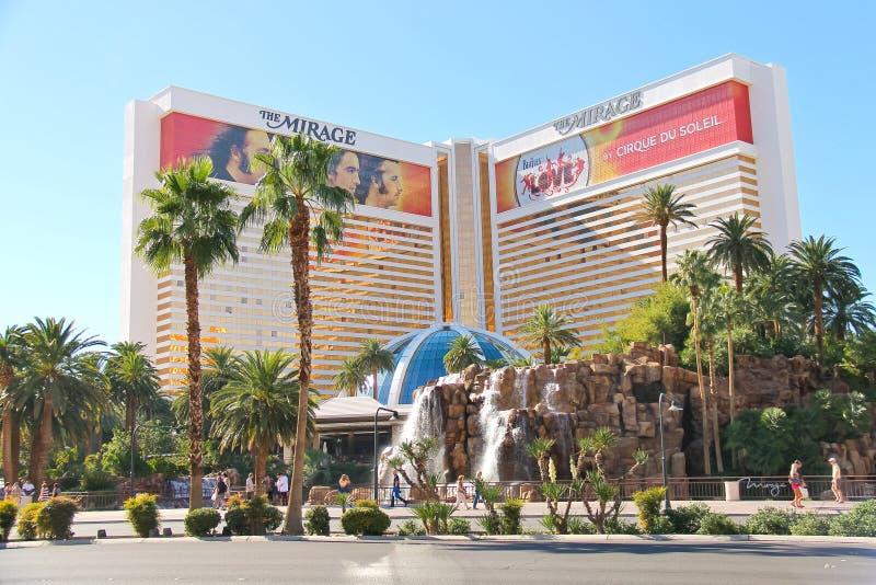 Το ξενοδοχείο αντικατοπτρισμού στο Λας Βέγκας στοκ εικόνες