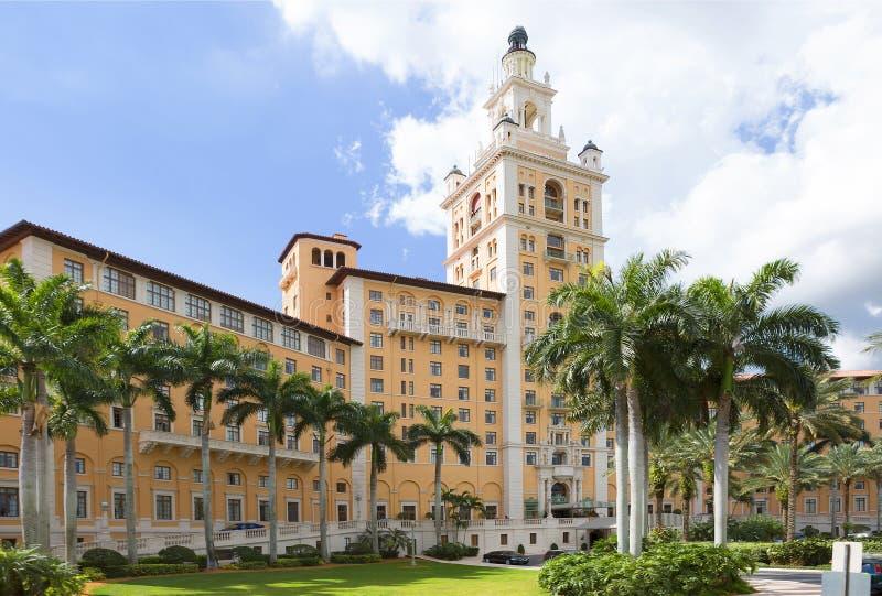 Το ξενοδοχείο Biltmore στα αετώματα κοραλλιών ΛΦ ΗΠΑ στοκ φωτογραφία