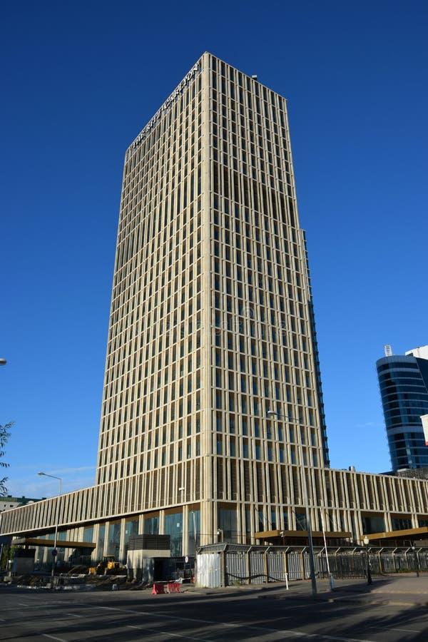 Το ξενοδοχείο RITZ CARLTON σε Astana στοκ εικόνες