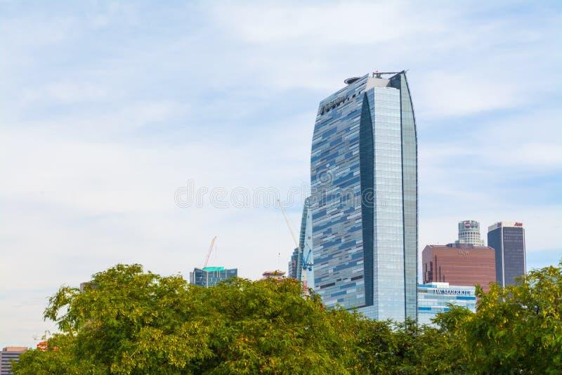 Το ξενοδοχείο Ritz Carlton στο στο κέντρο της πόλης Λ Α στοκ εικόνες