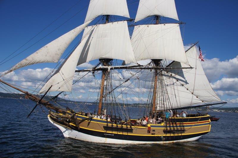 Το ξύλινο brig, κυρία Washington στοκ εικόνες με δικαίωμα ελεύθερης χρήσης