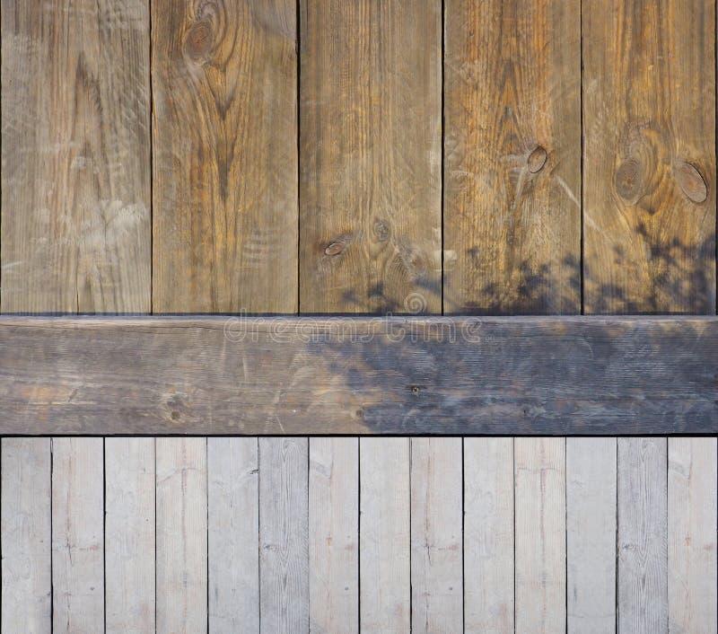 Το ξύλινο διαφορετικό υπόβαθρο έχει τη σκιά δέντρων στοκ εικόνα με δικαίωμα ελεύθερης χρήσης