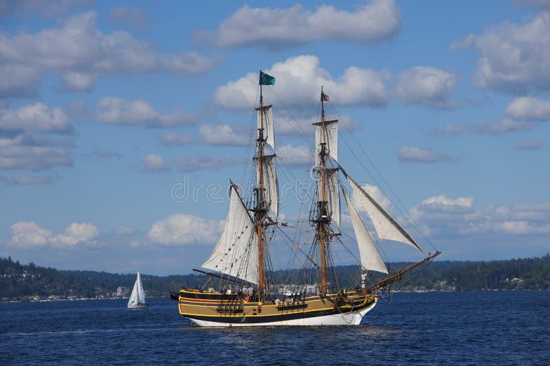 Το ξύλινο brig, κυρία Washington στοκ φωτογραφία με δικαίωμα ελεύθερης χρήσης