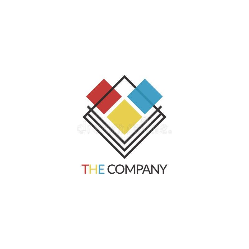 Το λογότυπο επιχείρησης στοκ φωτογραφία με δικαίωμα ελεύθερης χρήσης