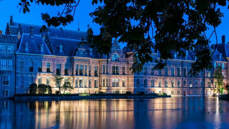 Το ολλανδικό Κοινοβούλιο στοκ εικόνα με δικαίωμα ελεύθερης χρήσης