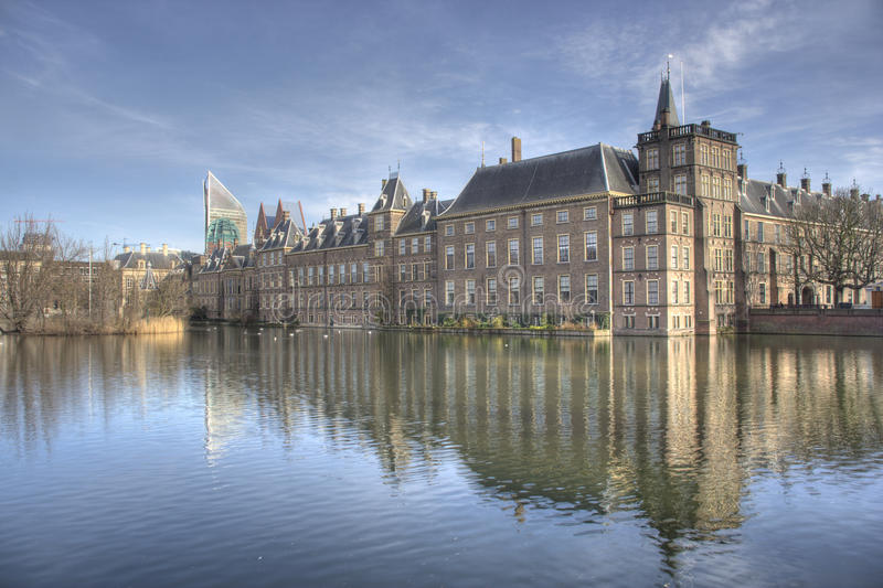 το ολλανδικό Κοινοβού&lambd στοκ φωτογραφίες
