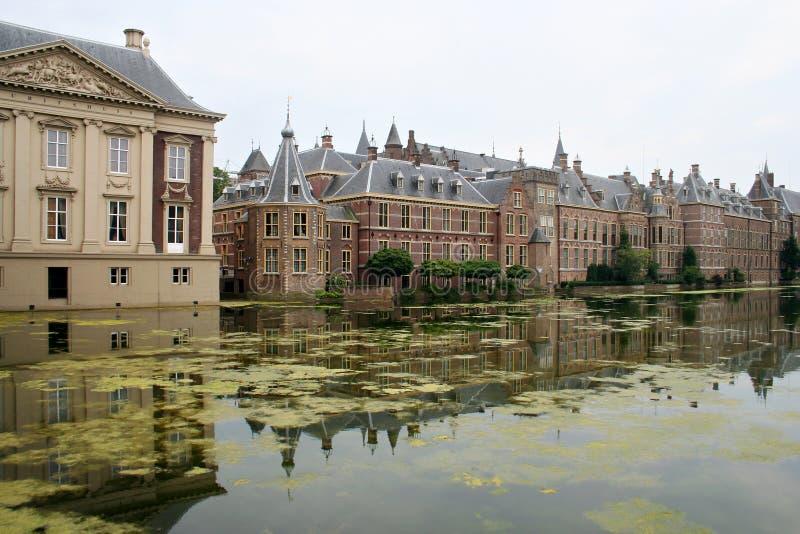 το ολλανδικό Κοινοβού&lambd στοκ φωτογραφία με δικαίωμα ελεύθερης χρήσης