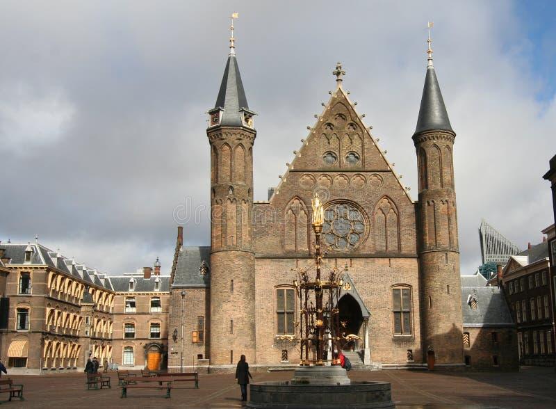 το ολλανδικό Κοινοβού&lambd στοκ εικόνες