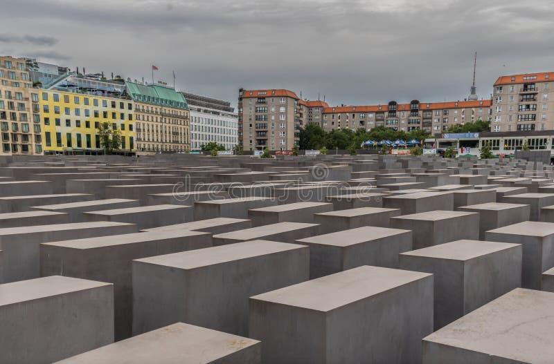 Το ολοκαύτωμα αναμνηστικό Βερολίνο Γερμανία στοκ εικόνες