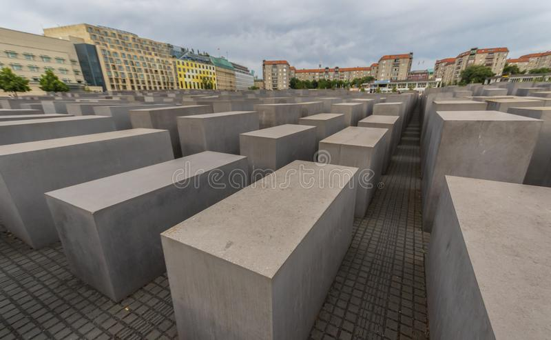 Το ολοκαύτωμα αναμνηστικό Βερολίνο Γερμανία στοκ εικόνα