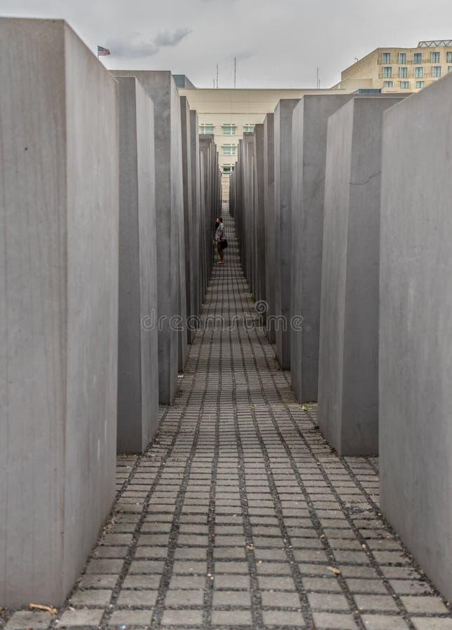 Το ολοκαύτωμα αναμνηστικό Βερολίνο Γερμανία στοκ εικόνα με δικαίωμα ελεύθερης χρήσης