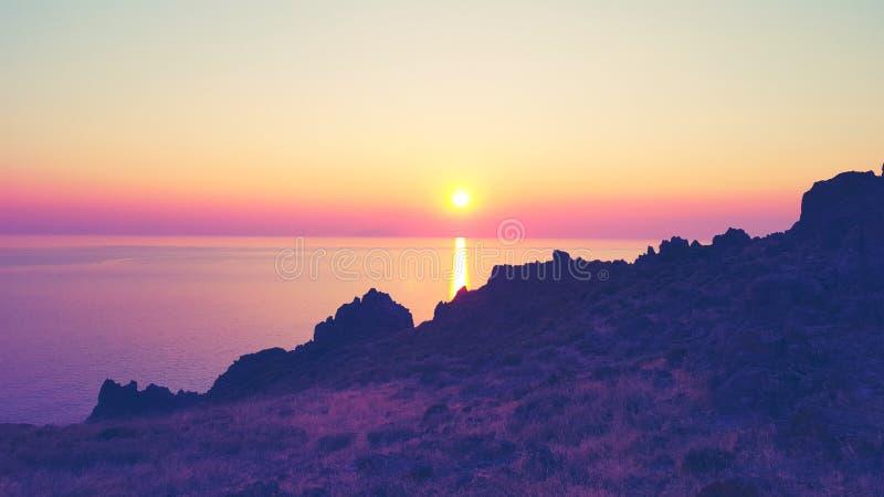 Το ομορφότερο ηλιοβασίλεμα στοκ φωτογραφίες με δικαίωμα ελεύθερης χρήσης