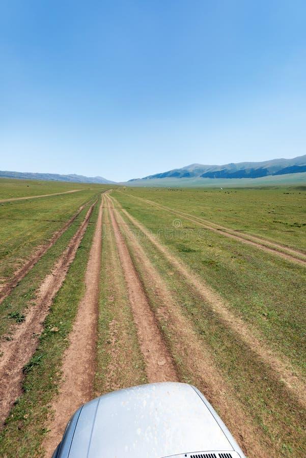Το οροπέδιο ανατολικά Αλμάτι Καζακστάν Assy που λαμβάνεται τον Αύγουστο του 2018 παίρνει στοκ φωτογραφίες με δικαίωμα ελεύθερης χρήσης