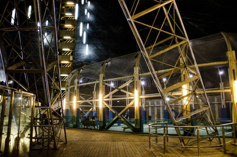Το ορυχείο αλατιού Σαλίνα Turda, δημοφιλές τουριστικό αξιοθέατο στη Ρουμανία στοκ φωτογραφία