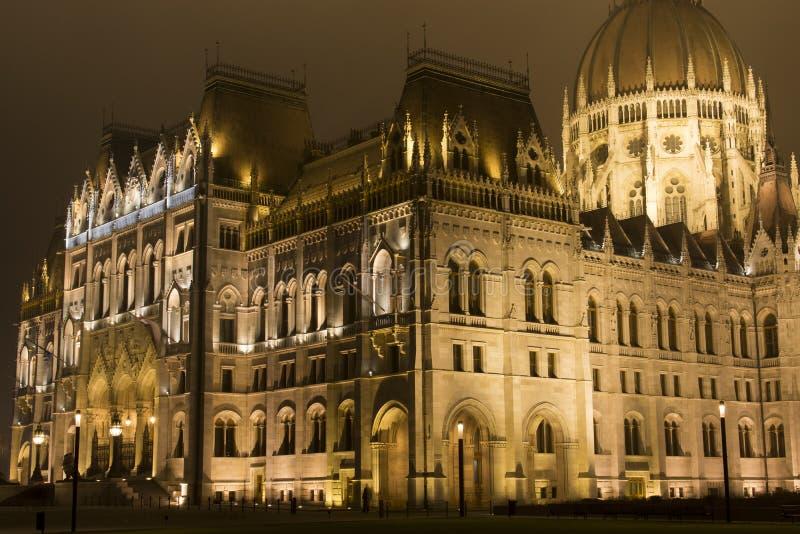 το ουγγρικό Κοινοβούλιο στοκ φωτογραφία