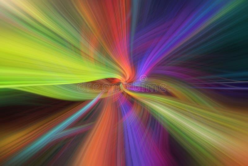 Το ουράνιο τόξο η περίληψη Έννοια τα νήματα του πεπρωμένου στοκ φωτογραφίες με δικαίωμα ελεύθερης χρήσης