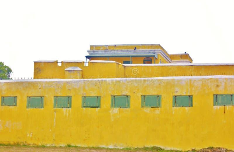 Το οχυρό οι πολεμίστρες usvi του ST croix για τα πυροβόλα όπλα στοκ φωτογραφία με δικαίωμα ελεύθερης χρήσης