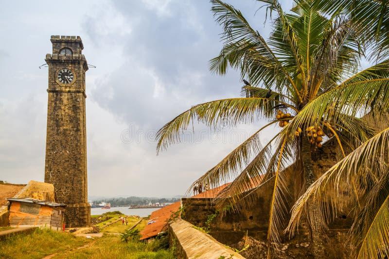 Το οχυρό σε Galle στοκ εικόνες