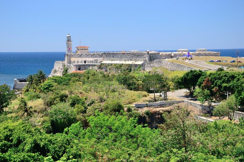 Το οχυρό στην Αβάνα, Κούβα στοκ εικόνες