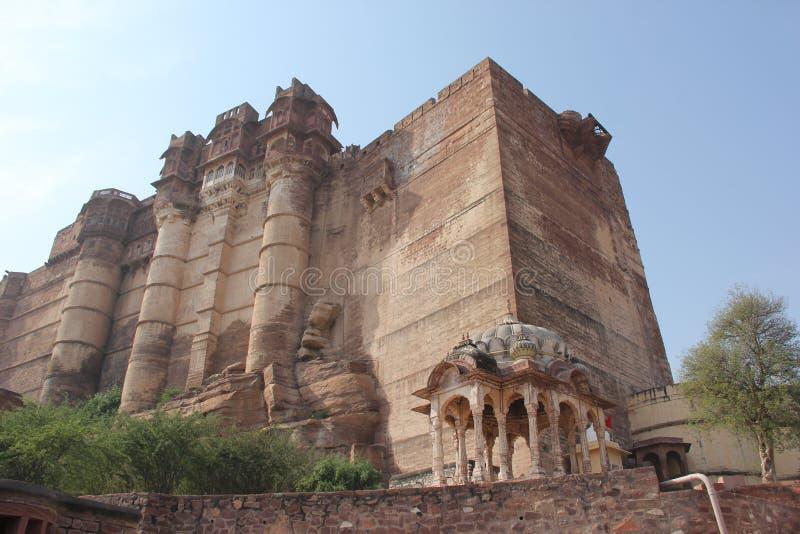 Το οχυρό Mehrangarh του Jodhpur στοκ εικόνες