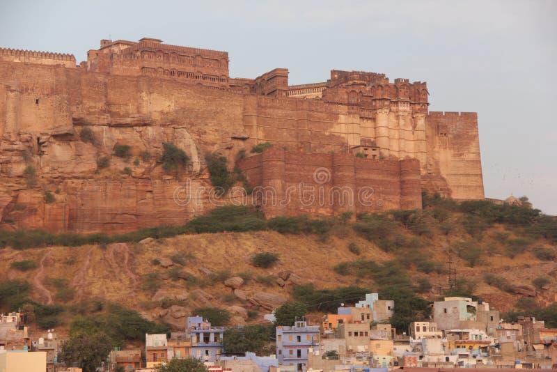 Το οχυρό Mehrangarh του Jodhpur στοκ φωτογραφίες