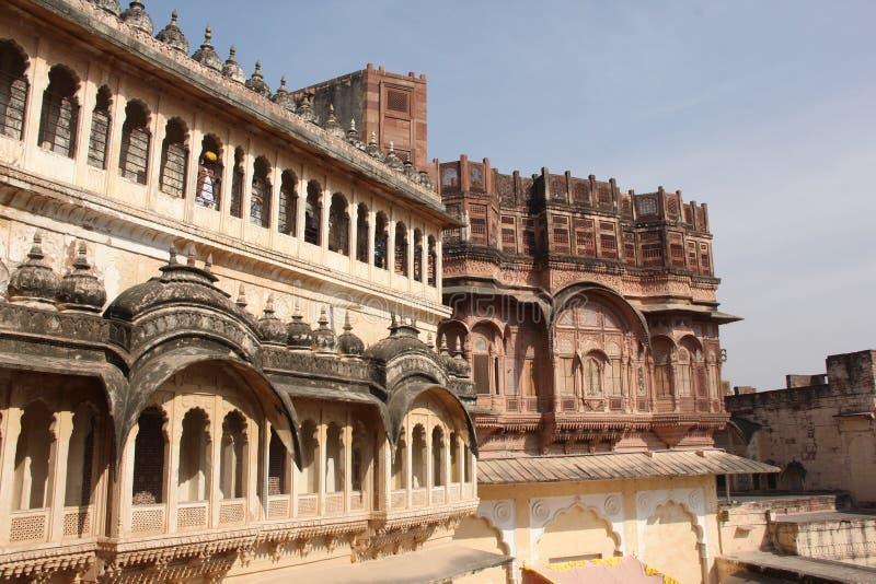 Το οχυρό Mehrangarh του Jodhpur στοκ εικόνα με δικαίωμα ελεύθερης χρήσης