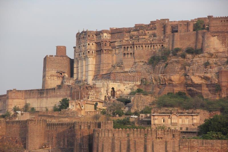 Το οχυρό Mehrangarh του Jodhpur στοκ φωτογραφία