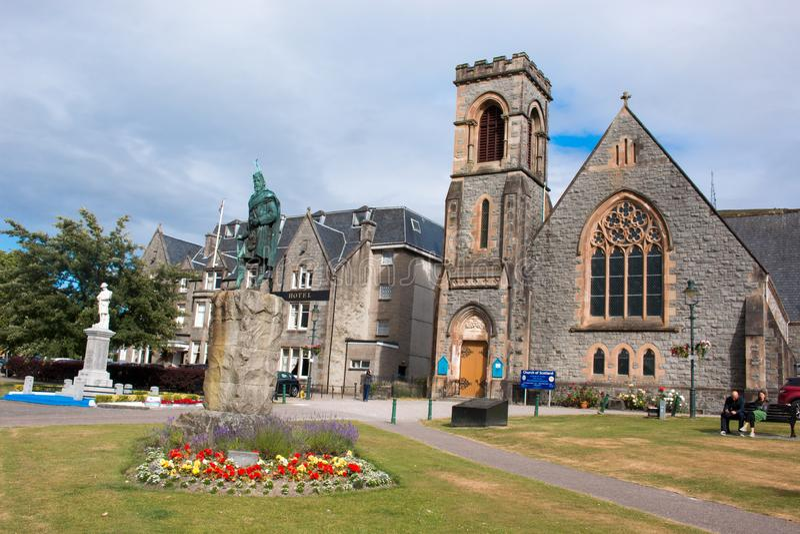 Το οχυρό William είναι πόλη στη δυτική σκωτσέζικη Σκωτία Ηνωμένο Βασίλειο Ευρώπη στοκ φωτογραφία