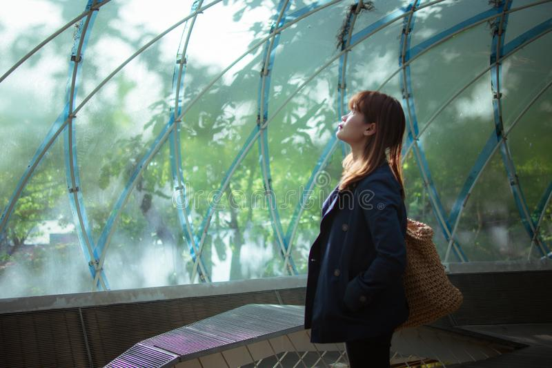 Το πάρκο τέχνης Anyang, που βρίσκεται κοντά στο σταθμό Anyang, το πάρκο είναι πλήρως εξοπλισμένο με το ποικίλο στοκ εικόνες
