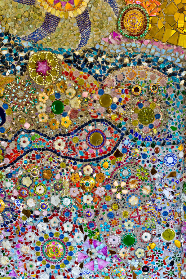Το πάτωμα αποτελείται από τα κεραμίδια στοκ εικόνες
