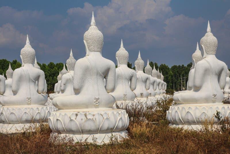 Το πίσω μέρος άσπρου Budda στοκ φωτογραφία με δικαίωμα ελεύθερης χρήσης