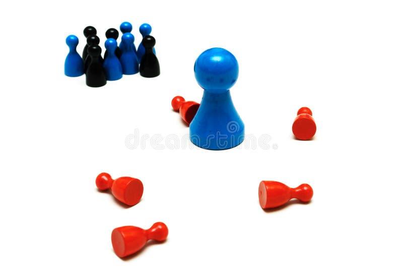 Το παιχνίδι προστασίας λογαριάζει τη διαφορετική άποψη στοκ εικόνα με δικαίωμα ελεύθερης χρήσης