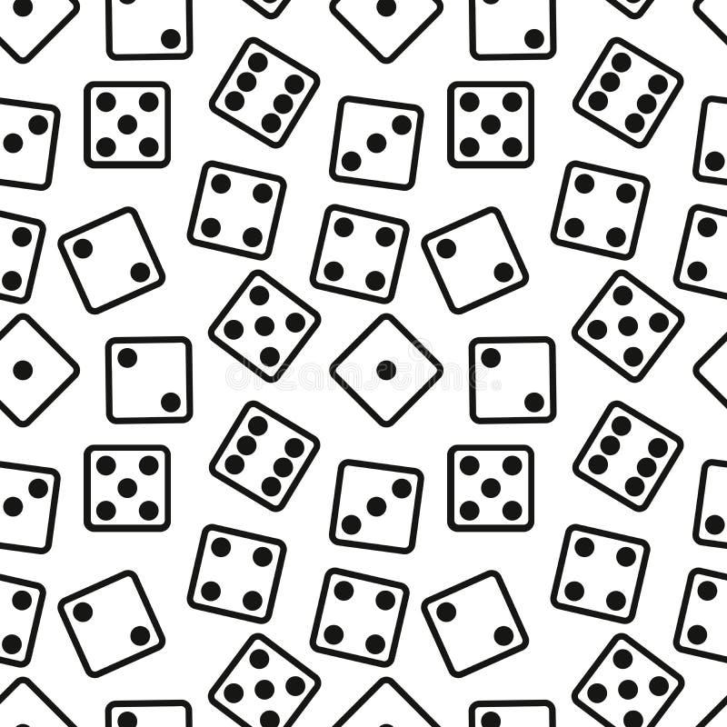 Το παιχνίδι χωρίζει σε τετράγωνα το άνευ ραφής σχέδιο στο άσπρο υπόβαθρο επίσης corel σύρετε το διάνυσμα απεικόνισης ελεύθερη απεικόνιση δικαιώματος
