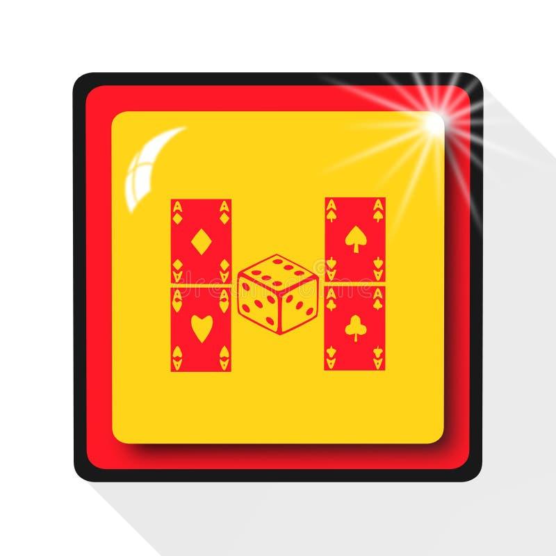 Το παιχνίδι του εικονιδίου, τραγουδά, απεικόνιση απεικόνιση αποθεμάτων