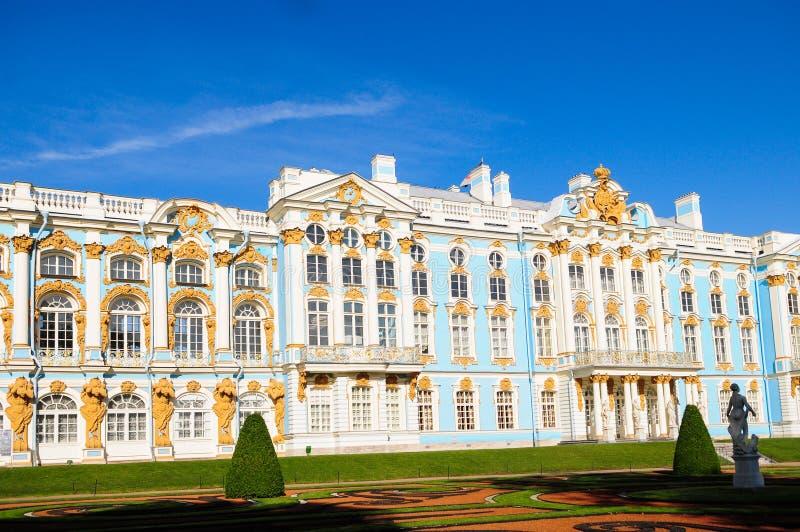 Το παλάτι της Αικατερίνης στην Αγία Πετρούπολη, Ρωσία στοκ φωτογραφία με δικαίωμα ελεύθερης χρήσης