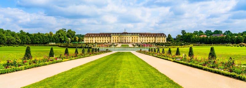 Το παλάτι Ludwigsburg και οι κήποι στο Ludwigsburg, νέα Στουτγάρδη, Baden-Württemberg, Γερμανία στοκ φωτογραφίες