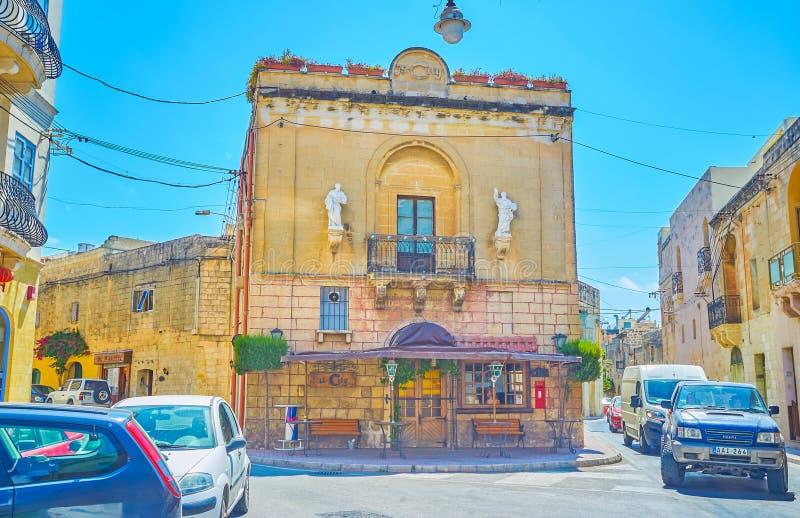 Το παλαιό ιστορικό οικοδόμημα σε Mosta, Μάλτα στοκ φωτογραφίες με δικαίωμα ελεύθερης χρήσης