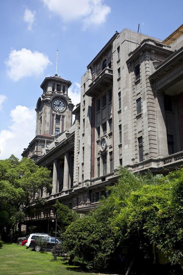Το παλαιό Μουσείο Τέχνης της Σαγκάη στοκ φωτογραφία με δικαίωμα ελεύθερης χρήσης